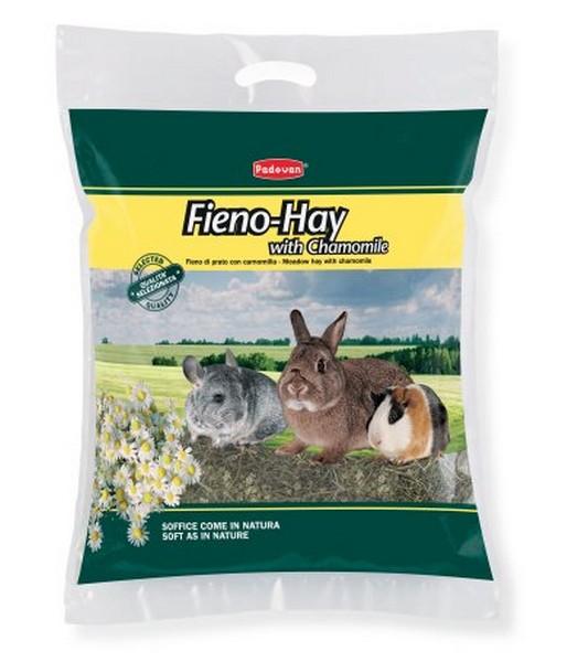 Padovan Fieno-Hay with Chamomile / Сено Падован для грызунов и кроликов Луговые травы с Ромашкой