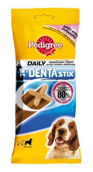 Pedigree Denta Stix Medium / Лакомство Педигри по уходу за зубами для собак Средних пород