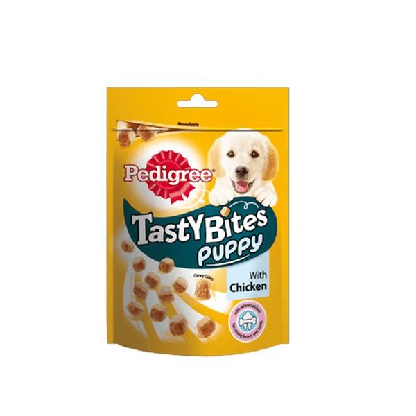 Pedigree Tasty Bites Puppy / Лакомство Педигри для Щенкво Ароматные кусочки с Курицей