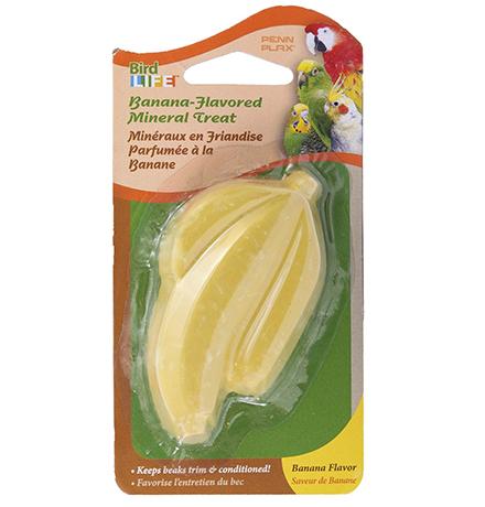 Penn Plax Cuttlebone Banana / Камень Минеральный Пен Плакс для птиц Банан