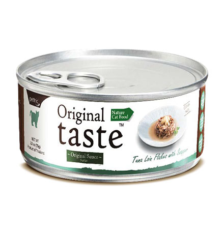 Pettric Original Taste Tuna Loin Flakes & Fresh Snapper in Sauce / Беззерновые консервы Петрик для кошек Тунец с люцианом в соусе (цена за упаковку)