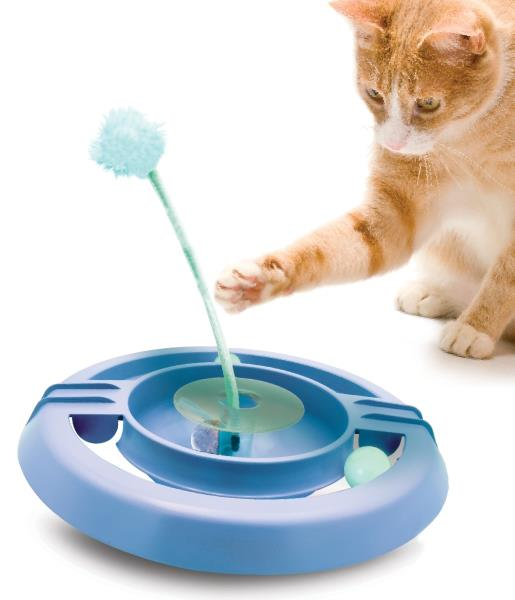 Petstages Wobble Track Blu / Игрушка Петстейджес для кошек Трек-неваляшка