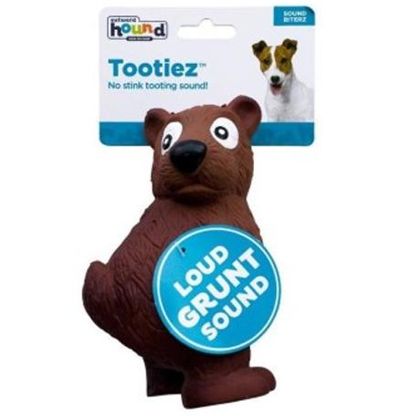 Petstages OH Tootiez / Игрушка Петстейджес для собак Медведь Латекс с Пищалкой