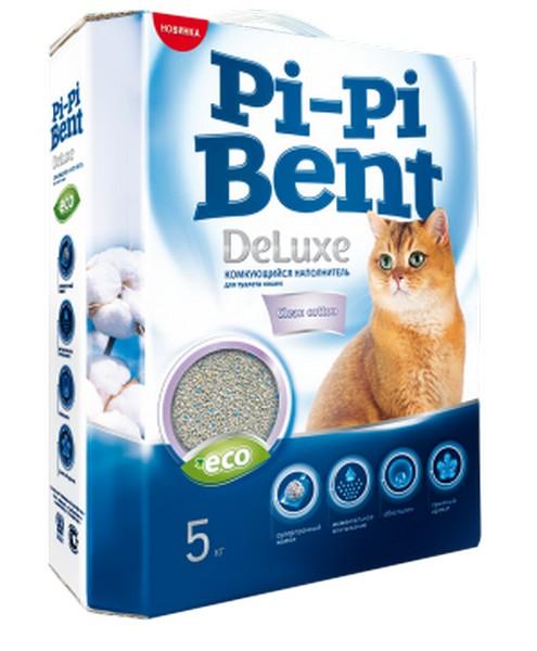 Pi-Pi Bent DeLuxe Classic / Наполнитель ПиПиБент Классик для кошачьего туалета Комкующийся