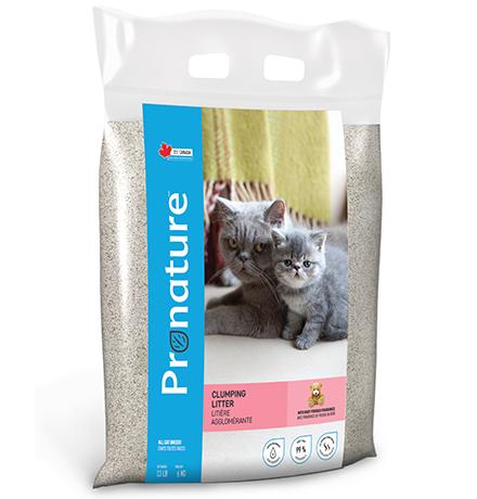 Pronature Clumping Litter Baby Powder Fragrance / Наполнитель Пронатюр для кошачьего туалета с ароматом Детской присыпки