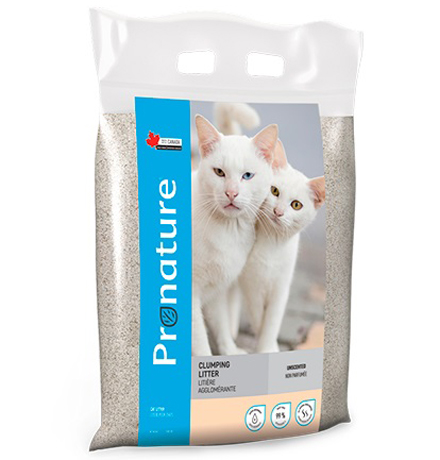 Pronature Clumping Litter Unscented / Наполнитель Пронатюр для кошачьего туалета Без аромата