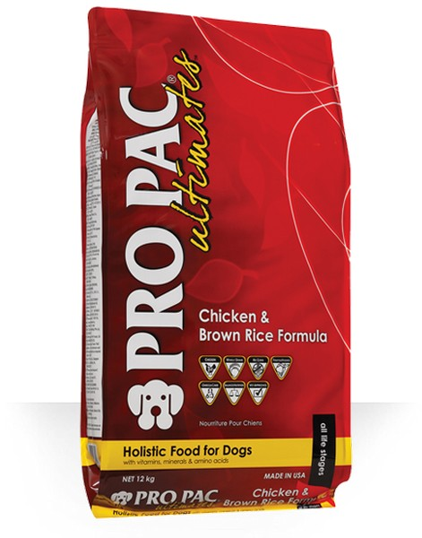 Pro Pac Ultimate Adult Chicken & Brown Rice / Сухой корм Про Пак Алтимейт для Взрослых собак с Курицей и бурым рисом