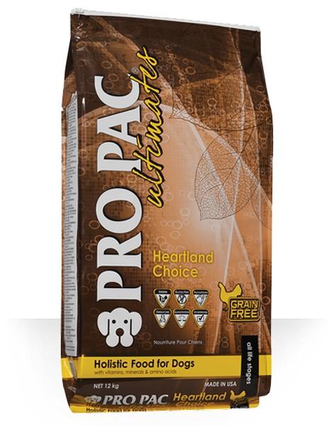 Pro Pac Ultimate Heartland Choice Grain Free Chicken & Potato / Сухой корм Про Пак Алтимейт Хартлэнд Чойс для собак Беззерновой с Курицей и картофелем