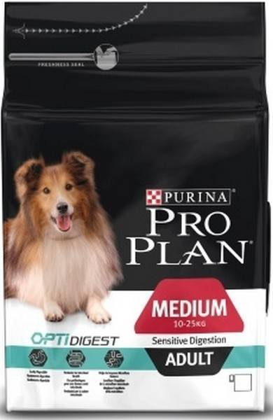 Purina Pro Plan Medium Adult Sensitive Digestion / Сухой корм Пурина Про План для Собак с чувствительным пищеварением Ягненок и рис