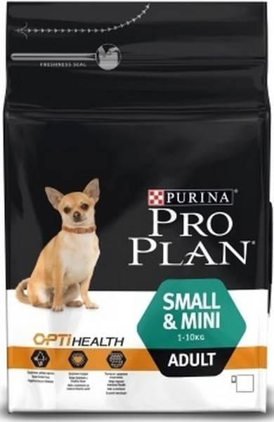 Purina Pro Plan Small & Mini Adult / Сухой корм Пурина Про План для собак Мелких и миниатюрных пород Курица и рис
