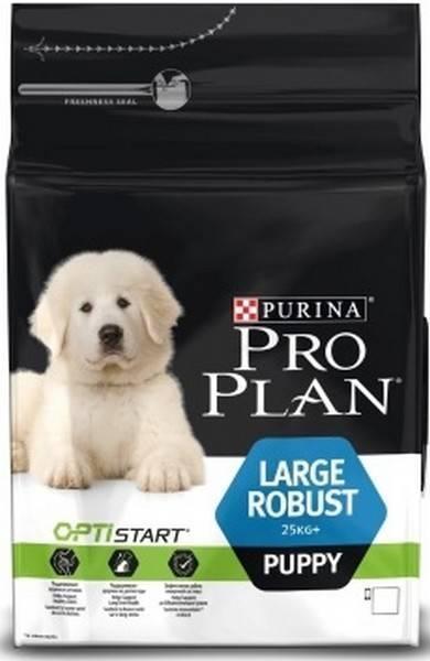 Purina Pro Plan Large Robust Puppy / Сухой корм Пурина Про План для щенков Крупных пород Курица с рисом