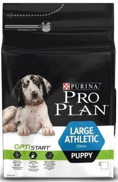 Purina Pro Plan Large Athletic Puppy / Сухой корм Пурина Про План для Щенков Крупных пород с атлетическим телосложением Курица с рисом