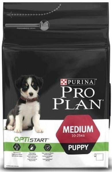 Purina Pro Plan Medium Puppy / Сухой корм Пурина Про План для щенков Курица и рис
