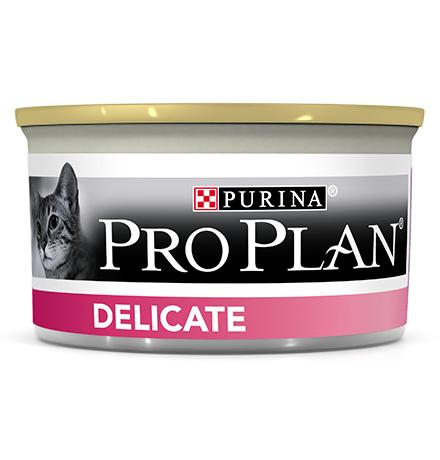 Purina Pro Plan Cat Delicate Turkey / Консервы Пурина Про План для кошек с Чувствительным пищеварением Индейка (цена за упаковку)