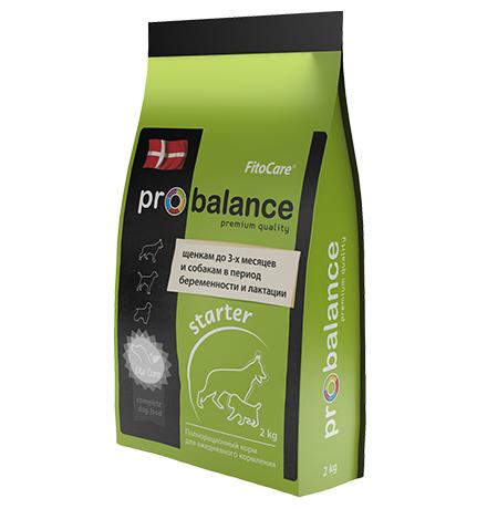 Probalance Starter / Корм Пробаланс для Щенков до 3-х месяцев, беременных и кормящих собак