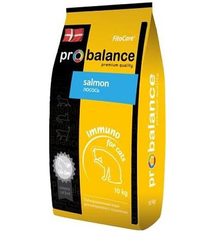 Probalance Adult Immuno Protection / Корм Пробаланс для взрослых кошек Лосось