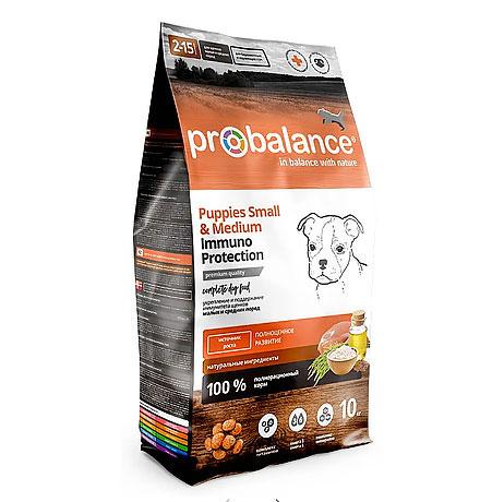 Probalance Puppies Small & Medium Immuno / Корм Пробаланс для Щенков Мелких и Средних пород