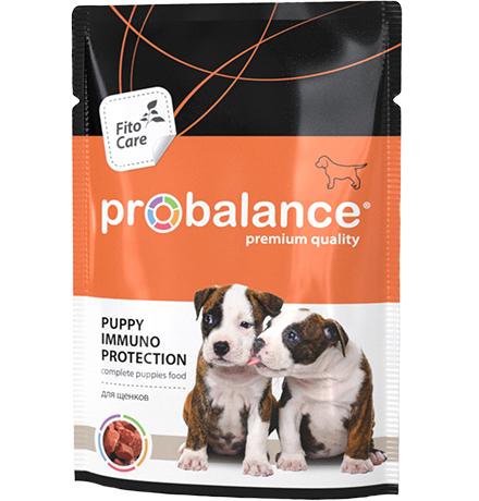 Probalance Puppy Immuno Protection / Паучи Пробаланс для Щенков (цена за упаковку)