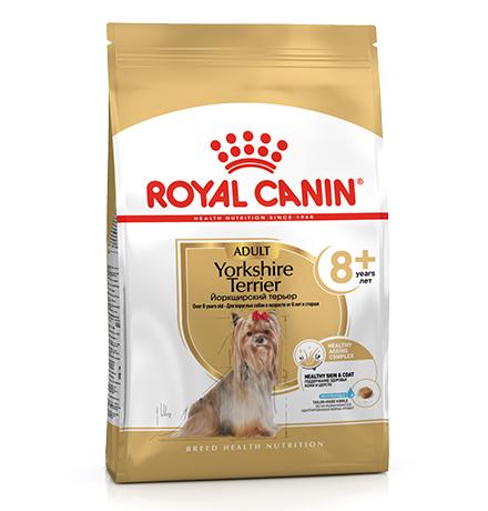 Royal Canin Breed dog Yorkshire Terrier 8+  / Сухой корм Роял Канин для Пожилых собак породы Йоркширский Терьер старше 8 лет