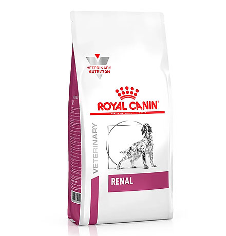 Royal Canin Renal RF14 / Ветеринарный сухой корм Роял Канин Ренал для собак Заболевание почек (хроническая почечная недостаточность)