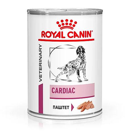 Royal Canin Cardiac Canine / Ветеринарный влажный корм (Консервы) Роял Канин Кардиак для собак Заболевание сердца (сердечная недостаточность 4 стадия) (Цена за упаковку)