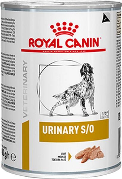 Royal Canin Urinary S/O Canine / Ветеринарный влажный корм (Консервы) Роял Канин Уринари для собак Мочекаменная болезнь (Цена за упаковку)