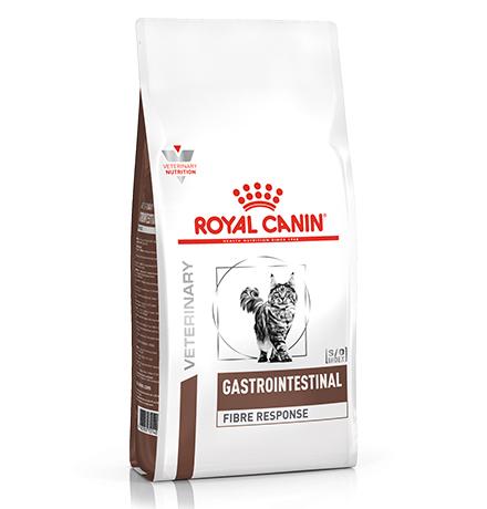 Royal Canin Gastrointestinal Fibre Response / Ветеринарный сухой корм Роял Канин Фибр Респонс для кошек Нарушения пищеварения (запоры)
