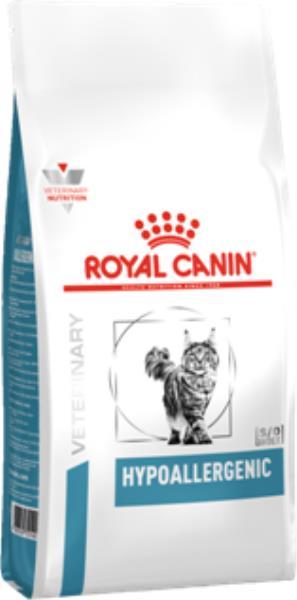 Royal Canin Hypoallergenic DR25 / Ветеринарный сухой корм Роял Канин Гипоаллергенный для кошек Пищевая аллергия и непереносимость