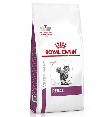 Royal Canin Renal RF23/ Ветеринарный сухой корм Роял Канин Ренал для кошек Заболевание почек (хроническая почечная недостаточность)