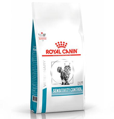 Royal Canin Sensitivity Control SC27 / Ветеринарный сухой корм Роял Канин Сенситивити Контрол для кошек Пищевая аллергия и непереносимость