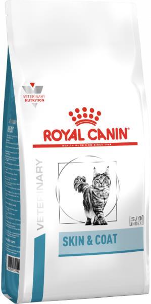 Royal Canin Skin & Coat Feline / Ветеринарный сухой корм Роял Канин для Стерилизованных кошек с повышенной Чувствительностью кожи