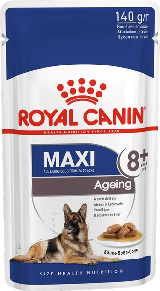 Royal Canin Maxi Ageing 8+ / Влажный корм (Паучи) Роял Канин Макси Эйджинг 8+ для Пожилых собак Крупных пород старше 8 лет (Цена за упаковку)
