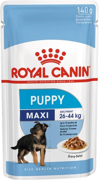Royal Canin Maxi Puppy / Влажный корм (Паучи) Роял Канин Макси Паппи для Щенков Крупных пород в возрасте от 2 до 15 месяцев (Цена за упаковку)