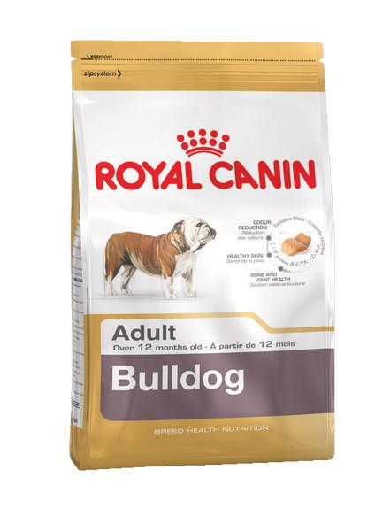 Royal Canin Breed dog Bulldog Adult / Сухой корм Роял Канин для взрослых собак породы Английский Бульдог старше 1 года