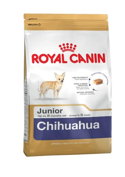 Royal Canin Breed dog Chihuahua Junior / Сухой корм Роял Канин для Щенков породы Чихуахуа в возрасте до 8 месяцев