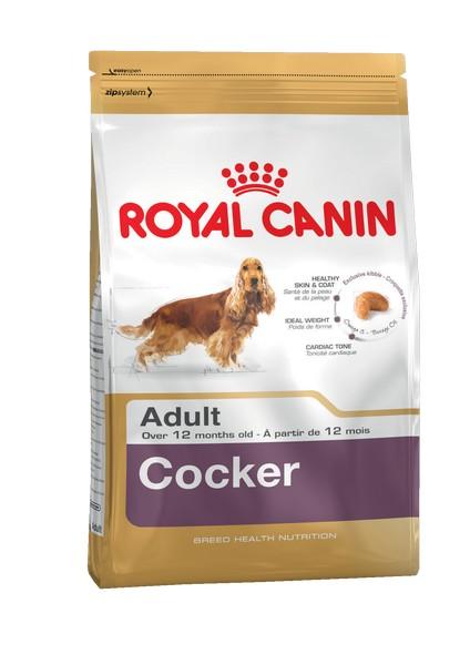 Royal Canin Breed dog Cocker Adult / Сухой корм Роял Канин для взрослых собак породы Кокер Спаниель старше 1 года
