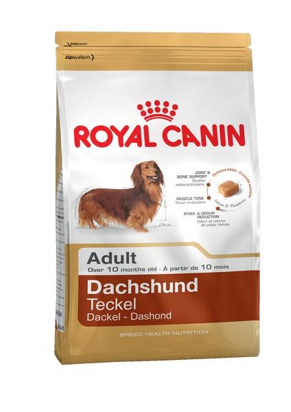 Royal Canin Breed dog Dachshund Adult / Сухой корм Роял Канин для взрослых собак породы Такса старше 10 месяцев