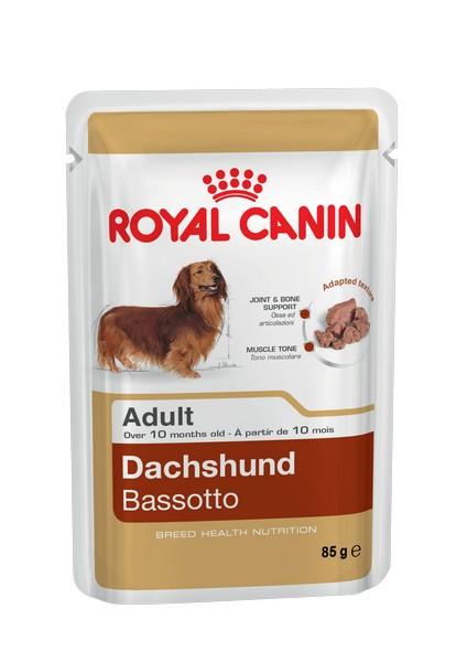 Royal Canin Breed dog Dachshund Паучи / Влажный корм (паштет) Роял Канин для собак породы Такса