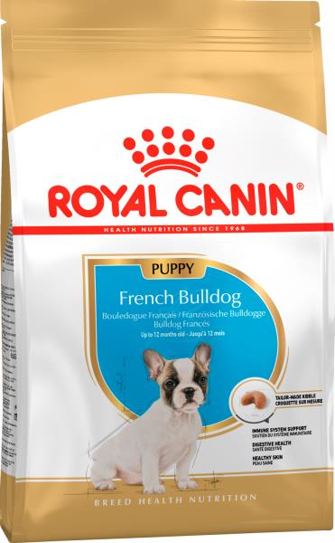 Royal Canin Breed dog French Bulldog Puppy / Сухой корм Роял Канин для Щенков породы Французский Бульдог в возрасте до 1 года