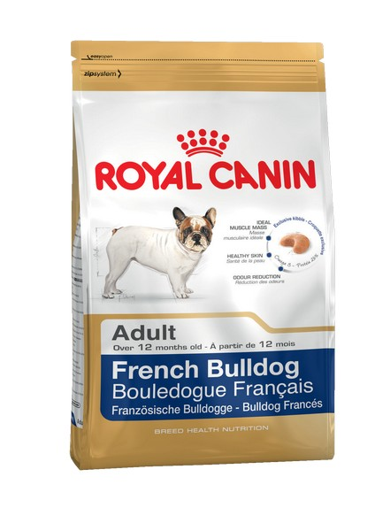 Royal Canin Breed dog French Bulldog Adult / Сухой корм Роял Канин для взрослых собак породы Французский Бульдог старше 1 года