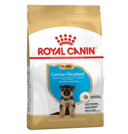 Royal Canin Breed dog German Shepherd Puppy / Сухой корм Роял Канин для Щенков породы Немецкая Овчарка в возрасте до 15 месяцев