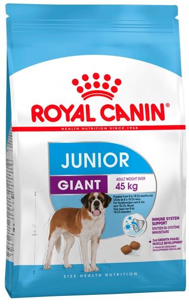 Royal Canin Giant Junior / Сухой корм Роял Канин Джайнт Юниор для Щенков Гигантских пород в возрасте от 8 месяцев до 2 лет