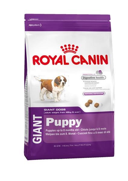 Royal Canin Giant Puppy / Сухой корм Роял Канин Джайнт Паппи для Щенков Гигантских пород в возрасте от 2 до 8 месяцев