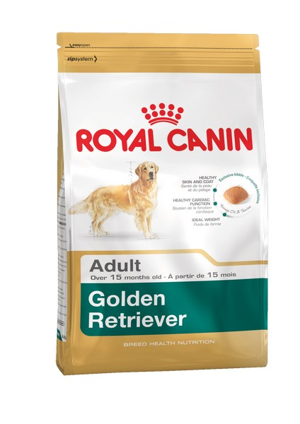 Royal Canin Breed dog Golden Retriever Adult / Сухой корм Роял Канин для взрослых собак породы Голден Ретривер старше 15 месяцев