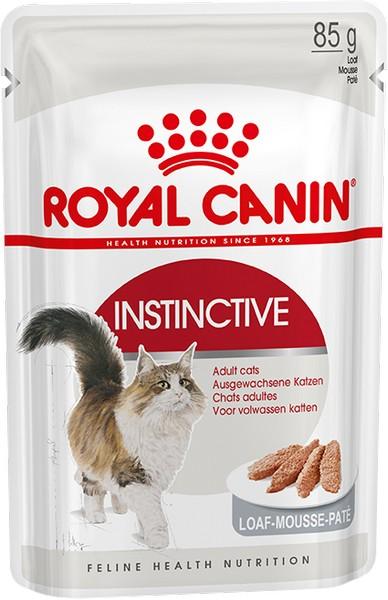 Royal Canin Instinctive Mousse Pate / Паучи Роял Канин Инстинктив для Взрослых кошек старше 1 года Паштет (цена за упаковку)
