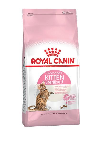 Royal Canin Kitten Sterilised / Сухой корм Роял Канин Киттен Стерилайзд для Стерилизованных и кастрированных Котят в возрасте до 1 года