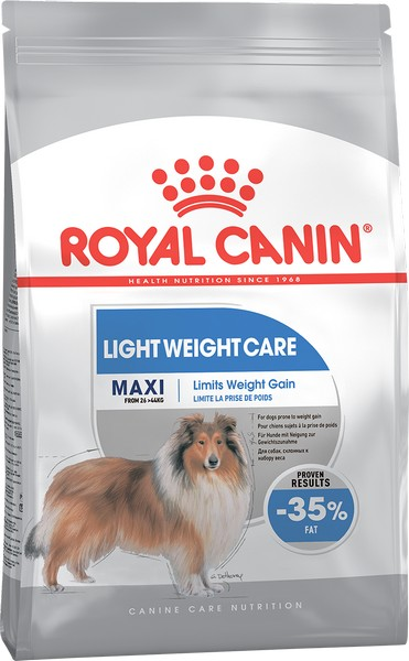 Royal Canin Maxi Light Weight Care / Сухой корм Роял Канин Макси Лайт Вейт Кэа для собак Крупных пород Низкокалорийный