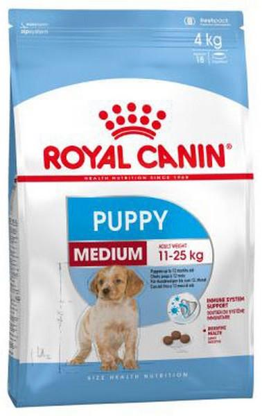 Royal Canin Medium Puppy / Сухой корм Роял Канин Медиум Паппи для Щенков Средних пород в возрасте от 2 до 12 месяцев