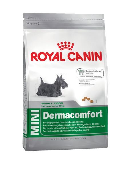 Royal Canin Mini Dermacomfort / Сухой корм Роял Канин Мини Дермакомфорт для собак Мелких пород с Кожным раздражением и зудом