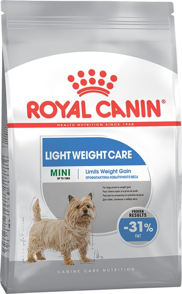 Royal Canin Mini Light Weight Care / Сухой корм Роял Канин Мини Лайт для собак Мелких пород Низкокалорийный
